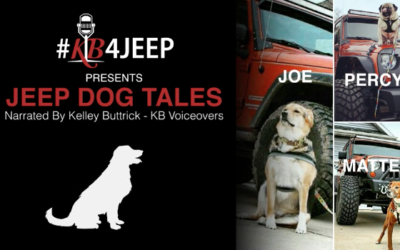 Jeep Dog Tales – Joe, Percy and Matteo