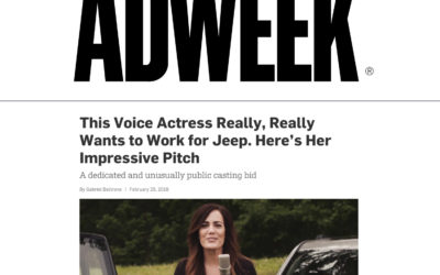 This Voice Actress Really, Really Wants to Work for Jeep. Here's Her Impressive Pitch