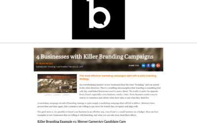 4 Businesses with Killer Branding Campaigns