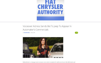 Voiceover Actress Sends Bid To Jeep To Appear In Automaker's Commercials