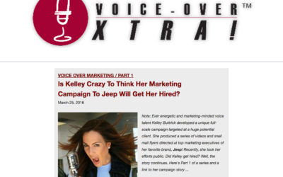Is Kelley Crazy To Think Her Marketing Campaign To Jeep Will Get Her Hired?