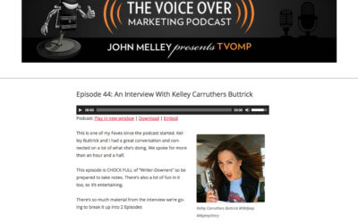 Episode 44: An Interview With Kelley Carruthers Buttrick
